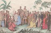 Pazifik Inseln - Franz�sisch-Polynesien - Tahiti - �bertragung des Matava� Bucht - Missionare - Tahiti