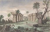 Marianen - Ruine in Tinian (Vereinigten Staaten von Amerika)