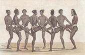 Caroline Islands - Dancers (Oceania)
