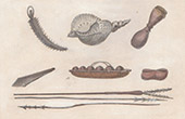 Karolinerna - Vapen och K�ksredskap (Oceanien)