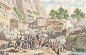 Spanish War of Independence - Napoleon I - Montserrat Storming - Marshal Suchet (1811)