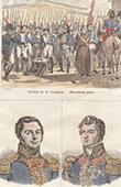 Napoleonic Wars - La Junquera - Portraits - Louis-Joseph Hugo (1777-1853) - J.S. Leopold Hugo (1773-1828)