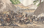Napoleonic Wars - Spanish War of Independence - Salinas de L�niz - Assault of a Convoy (1811)