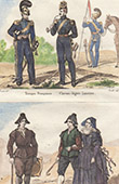 French Military costume  - Chevau-L�ger - Lancer - Spanish Traditional Costume - Avila