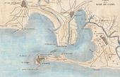 Antique map - C�diz Bay  (Spain)