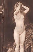 Woman - Female Nude - Pastel (L. Doucet)