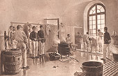 Soldiers Bathing (Eug�ne Chaperon)