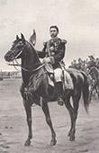 Porträt zu Pferde von Georges Boulanger (Édouard Debat-Ponsan)