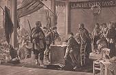 Rekrutierung der Freiwilligen in 1870 (A. de Richemont)