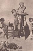 Childish scenes (Timoleon Maria Lobrichon)