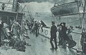 Ocean Liner - Storm (Henry Bacon)