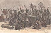 Amerindiens - Wayana - Marak� - Tanz (Bergland von Guayana)
