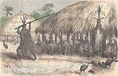 Amerindiens - Wayana - Pono - Tanz (Bergland von Guayana)