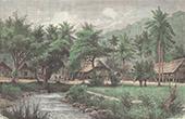 Vy �ver Sumatra - Kampong Grabak - Sunda�arna (Indonesien)