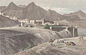 Ansicht von Attock - Festung - Punjab (Pakistan)