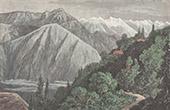 Ansicht von Murry - Kaschmir - Himalaya (Indien)