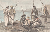 Soldiers in Panama City (Panama)