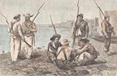 Soldaten in Panama-Stadt (Panama)