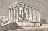 Temple de Minerve � T�bessa - Aur�s (Alg�rie)