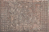 Temple of the Cross in Palenque - Low-reliefs - Maya city (Mexico)