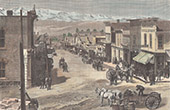 View of Leadville - Gold Rush - Colorado (United States of America)