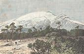 Popocatépetl - Volcan - Pic du Moine (Méxique)
