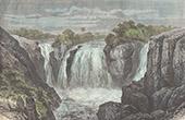 Wasserfall in Mosi-oa-Tunya (Sambia)