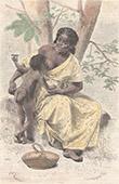 Junger Raucher der seine Mutter Saugt - Provinz Dari�n (Panama)