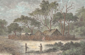 View of Louchouma - Zambezi - Zambesi