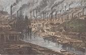 Vivian Kupfer Fabrik in Hafod - Swansea - Vereinigtes K�nigreich (Wales)