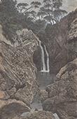 Waterfall near Maghera (Ireland)