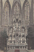 Colmar Cathedral - Altar - Alsace (France)