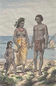 Fiskare i Rarotonga (Cook�arna)