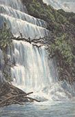 Nam Se Wasserfall - Nan Chih - Ban Pak Hen - Phang Nga (Thailand)