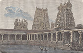 Minakshi-Tempel in Madurai - Tamil Nadu (Indien)