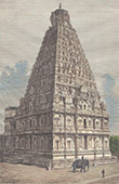 Brihadishvara-Tempel in Thanjavur - Tanjore - Tamil Nadu (Indien)