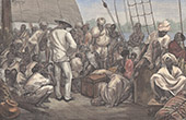 Natives of the Malabar Coast on a Boat in the Port of Colombo (Sri Lanka)