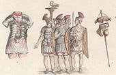 Italia Antica - Impero Romano - Guardia pretoriana - Corazza - Armatura - Arma