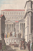 Ancient Italy - Roman Empire - Rostra - Tabularium (Rome)
