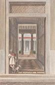 Italie Antique - Empire Romain - Int�rieur de Maison Romaine