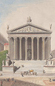Italie Antique - Empire Romain - Temple de Jupiter Stator - Forum Romain - Forum Romanum