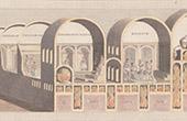 Italie Antique - Empire Romain - Peinture Antique des Thermes de Titus (Rome)