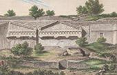 Ancient Italy - Etruscans - Necropolis of Castel d'Asso  - Viterbo - Lazio