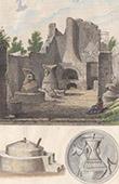 Italie Antique - Empire Romain - Boulangerie - Meule � grains