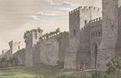 Ancient Italy - Roman Empire - Porta Settimiana - Aurelian Walls (Rome)