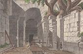 Italie Antique - R�publique romaine - �missaire du lac d'Albano - Latium