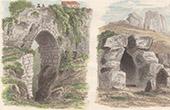 Ancient Bridge in Cori - Aqueduct near of Terracina - Lazio (Italy)