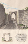 Italie Antique - Osques - Murailles de Pompei - Forum - Porte de Sarnus - Campanie