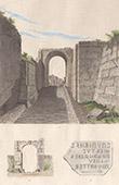 Ancient Italy - Opicans - Defensive walls of Pompei - Forum - The Sarnus Gate - Porta di Sarnus - Campania