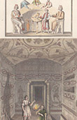 Ancient Italy - Early Christians - Agape feast - Cubiculum